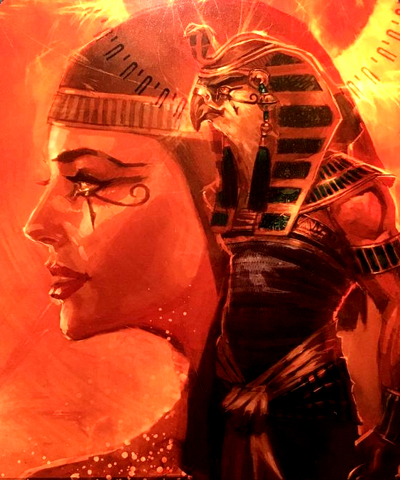 Isis with Horus in her mind