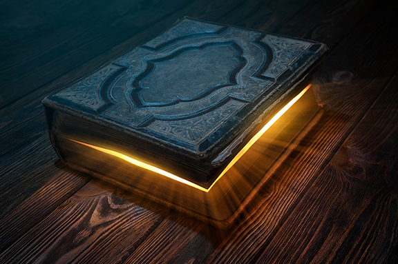 Magic book & texts