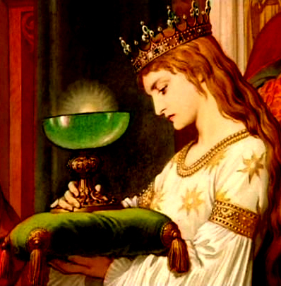 Mary Magdalene the Grail Maiden