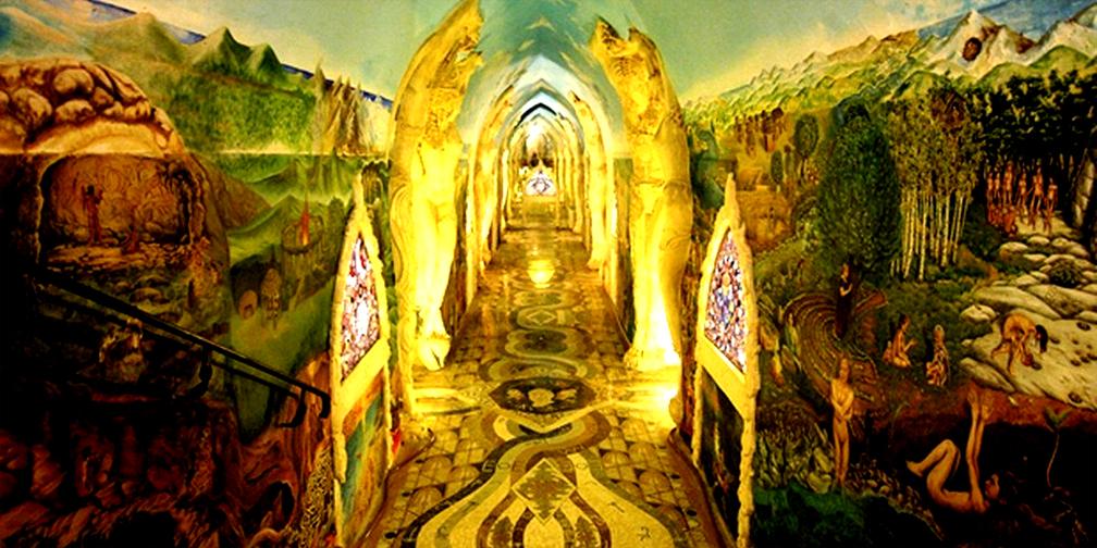 Damanhur Labyrinth