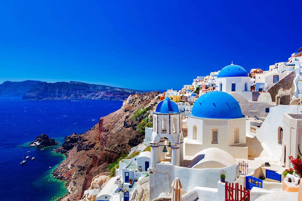 Greek Isle of Santorini
