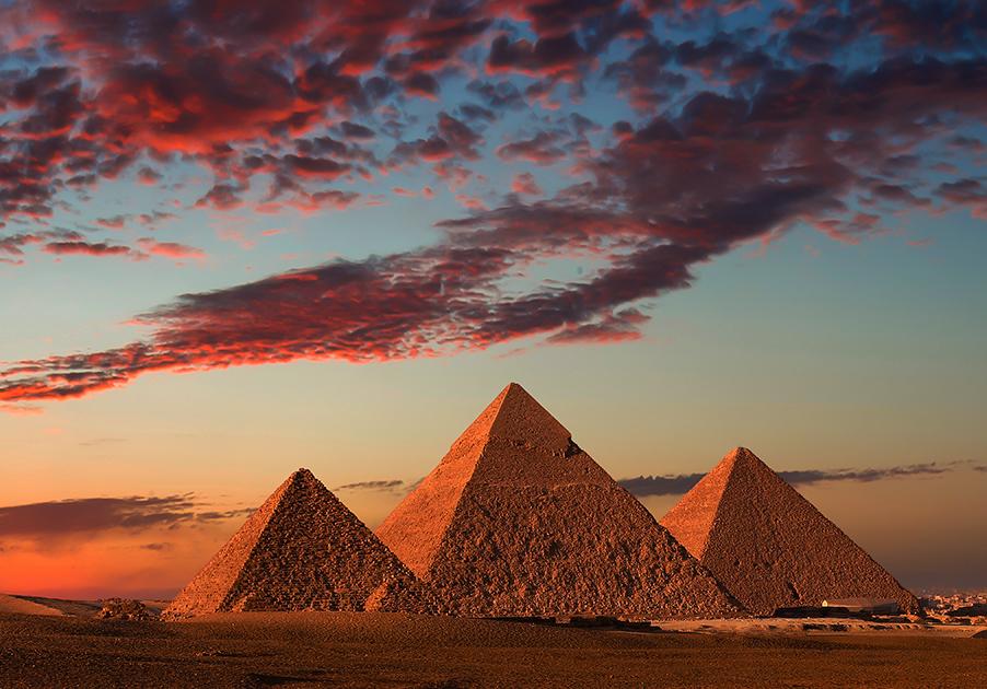 Egypt 3 Pyramids