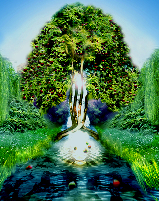 Tree of Life Waters of Life