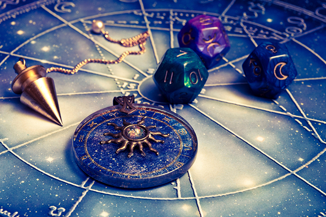 Zodiac Astrology Dice
