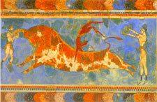 GreeceBullMuralCrete142