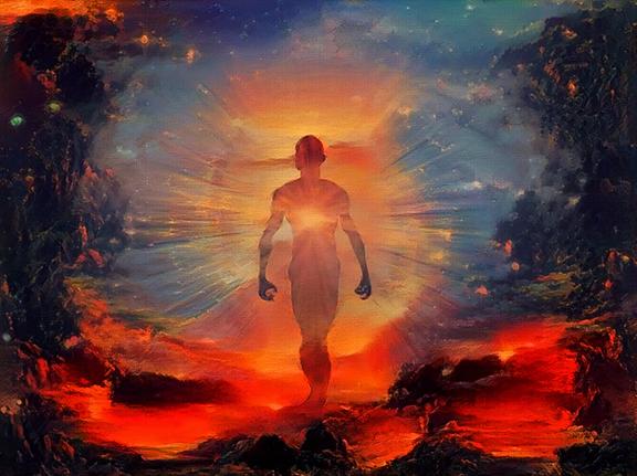 Soul descends from Heaven
