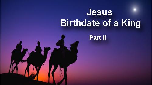 Jesus' real birthdate