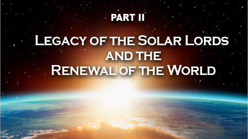Renewal of the World