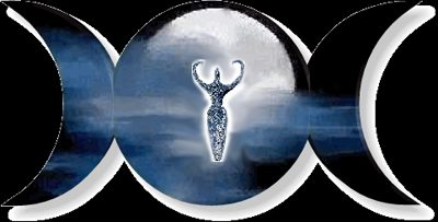 The Triple Goddess symbol