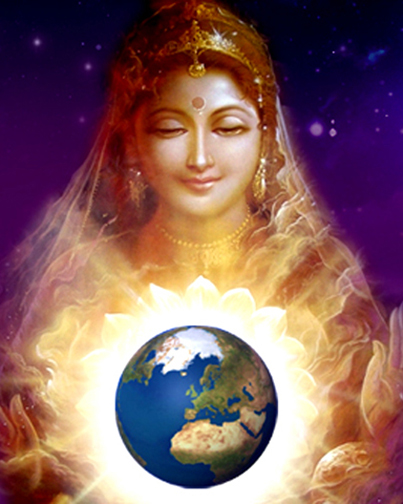 Great Mother with the Earth