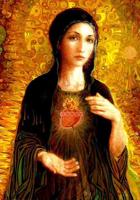 Mary's Sacred Heart